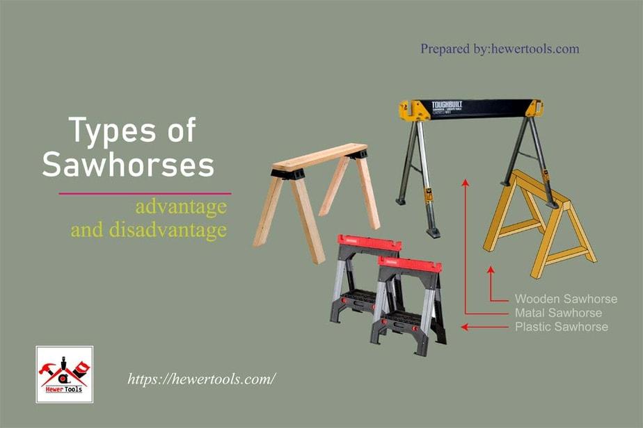 Types of Sawhorses