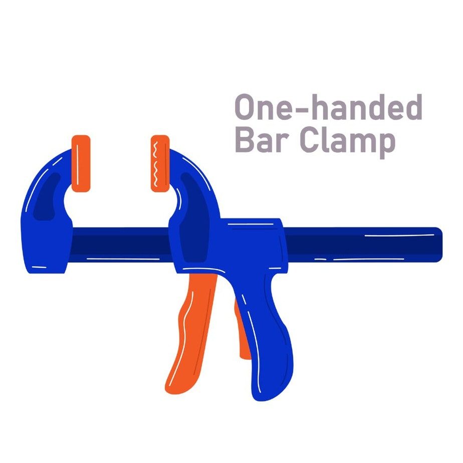 One-handed Bar Clamp